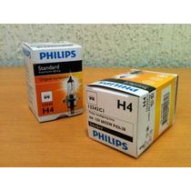 Lampada Philips Original Standart H4 Farol Amarela