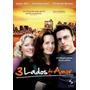 Dvd Original Do Filme 3 Lados Do Amor (lésbico)