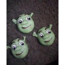30 Lembrancinhas* Shrek* P/ Decoração De Pote Ou Caixinha
