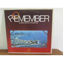 Lp Col Rio Remember Tom Jobim Baden Powell Brinde Palace