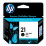 Cartucho Hp 21b Preto 30ml Tinta