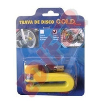 Trava De Disco Para Moto 10mm