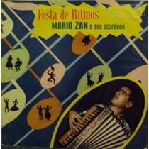 Lp.mario Zan E Seu Acordeon Festa De Ritmos(frete Grátis)