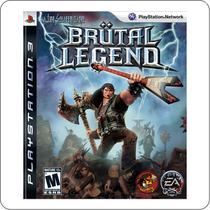 Brutal Legend - Ps3 - Playstation 3 - Novo Lacrado