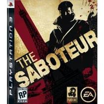The Saboteur Ps3 Envio Imediato, Aceito Sedex A Cobrar