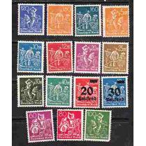 Selos - Alemanha - 1921/23 Mnh 15 Selos Sc#144-248