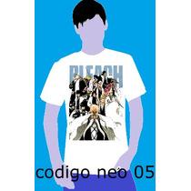 Camisa Camiseta Anime Bleach Heroi Manga