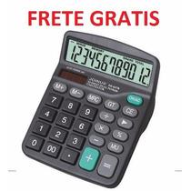 Calculadora 12 Digitos Frete Gratis - P Mesa Tecla Grande