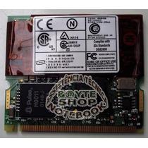 Placa Modem Mini Pci Do Notebook Compaq Armada 110 230338001