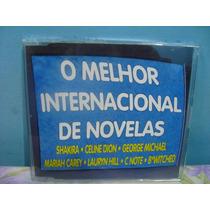 O Melhor Internacional De Novelas... - Cd Single Nacional