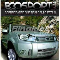 Sobregrade Ecosport 2011 Aço Inox Darta Parachoque
