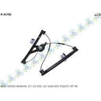 Maquina De Vidro Manual Dianteira Gol G2 Saveiro Parati 4p