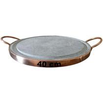 Grelha Em Pedra Sabão De 40 Cm