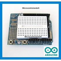 Protoshield + Mini Protoboard - Arduino Proto Shield Placa