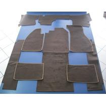 Carpete Marrom Cortado Para Vw Fusca