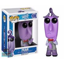 Boneco Medo Divertidamente Insideout Disney Pop Funko