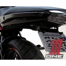 Eliminador Rabeta Er6n Kawasaki Suporte Placa Articulado