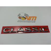Emblema Classic Cromado Mini Corsa Sedan De 2002 A 2006
