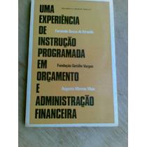 Livro - Orçamento E Administração Financeira.