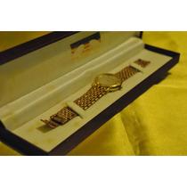 Relógio Technos Quartz Dourado - Anos 90