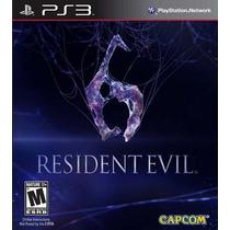 Resident Evil 6 - Em Português - Ps3 - Original - Lacrado