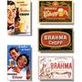 Cerveja Brahma Retro - Coleção Com 05 Imãs De Geladeira