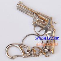Chaveiro Mini Revolver 38 Amadeo Rossi Chave Metal Coleção