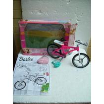 Brinquedo Antigo Estrela Mattel Bicicleta Barbie Anos 90/00