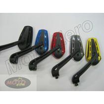 Retrovisor Esportivo Moto Honda, Yamaha Diversas Cores