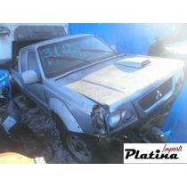 Sucata Mitsubishi L200 Gls 03 Peças Motor Câmbio Diferencial