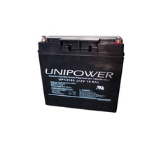 Bateria Selada 12v 18ah Unipower 3 Anos - Up12180