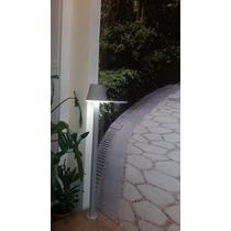 Balizador Poste De Jardim Piso Solo Escada Led Área Externa