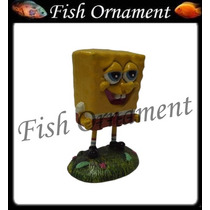 Enfeite Resina Bob Esponja Gd Fish Ornament