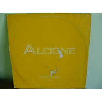 Lp Disco Vinil Alcione Toque Macio Single Promo 1988