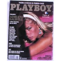 Playboy 241 - Adriane Galisteu - Edição Especial Com Poster