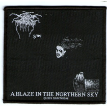 Patch Tecido Dark Throne - Blaze In The Northern Sky - Impor