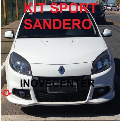 Kit Sport Renault Sandero 2012 2013 2014 Sem Aerofolio Saia em Rio de Janeiro