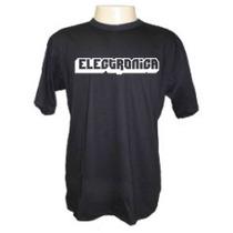 Camisetas Divertidas Panico Eletronica Dj Deejay Música