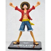 Boneco One Piece - Mokey D Luffy Ruffy Figure Anime Manga