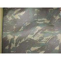 01 Mt Tecido Nylon 600 Camuflado Exérc.brasil.100% Poliéster