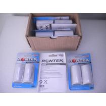Baterias 02 Pilhas D(grande)4500mah 1.2v Recarregavel Ni-cd