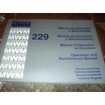 Mwm Motores Diesel 229 Ano 1990 Operação/manutenção