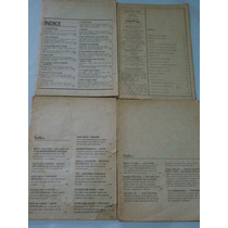 Lote De 4 Revistas De Músicas Antigas Para Estudar Cifras