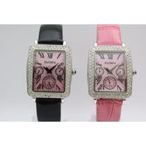 Relógio Feminino Elgin Original 2 Pulseiras Lindo Oferta