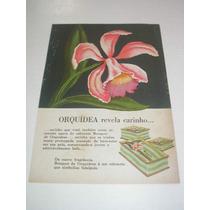 ( L - 290/ P ) Propaganda Antiga Sabonete Masi Bouquet