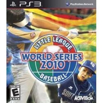 Jogo Little League World Series 2010 Baseball Para Ps3 Usa