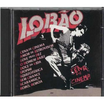 Cd Cena De Cinema Lobão Raro