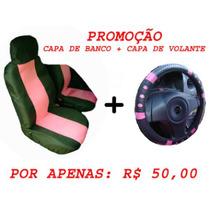 Capa De Banco Automotivo Na Cor Rosa, Pink, Capa De Carro