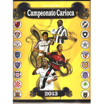 Album Campeonato Carioca 2013 - Completo - Figurinhas Soltas