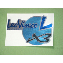 Adesivo Leo Vince X3 Escape R1 Cbr Srad Bmw Ninja Hayabusa